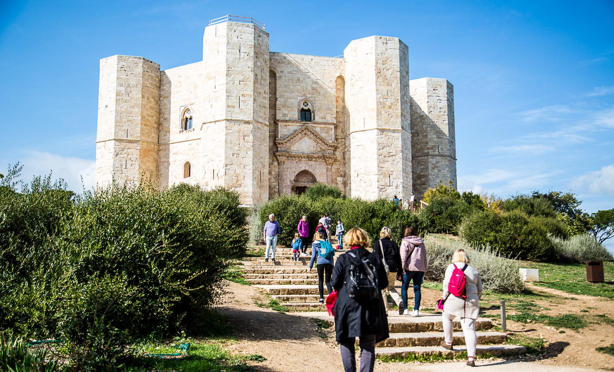 Castel del Monte Achteckiges Castel Friedrich II