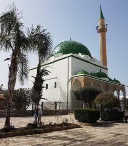 Israel El Jazar Mosche in Akko