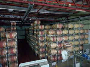 Israel Weinlager der Weinkelterei Golanhöhen