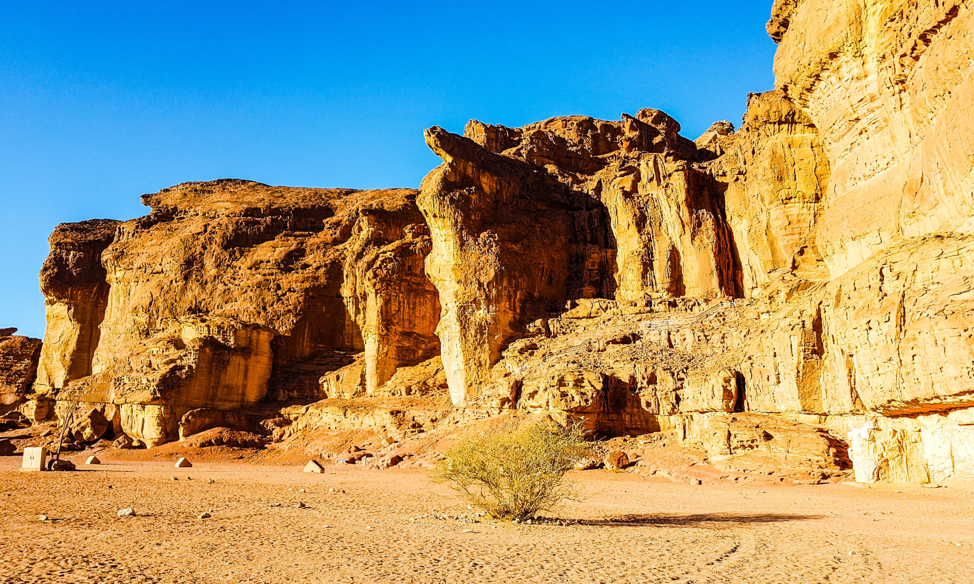 Israel Tumna Sandsteinformationen